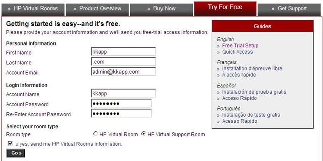 免费账户注册